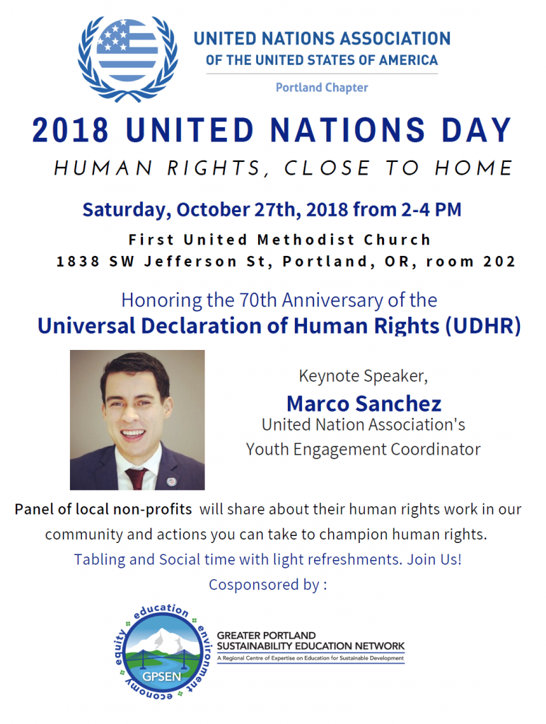 Updated UN Day flier